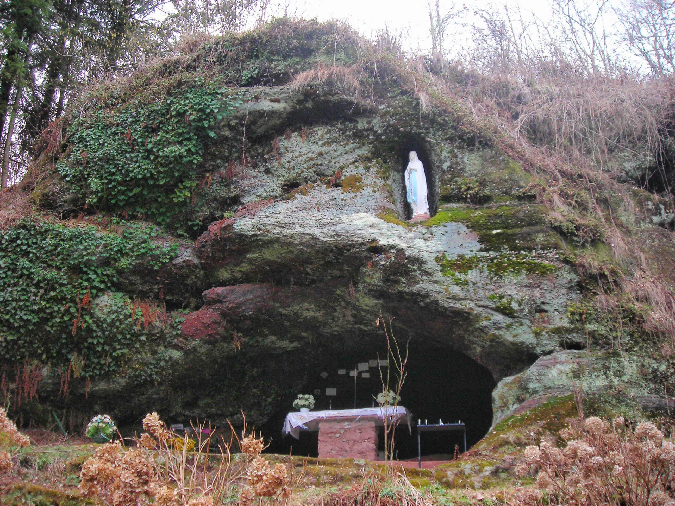 Résultat d'images pour grotte de lourde schorbach