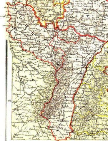 Carte Annexion Alsace Lorraine.Le Pays De Bitche Durant L Annexion De 1871 A 1918